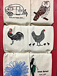 Dishtowels Sally by the Sea