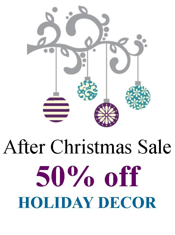 After Christmas Sale 2015