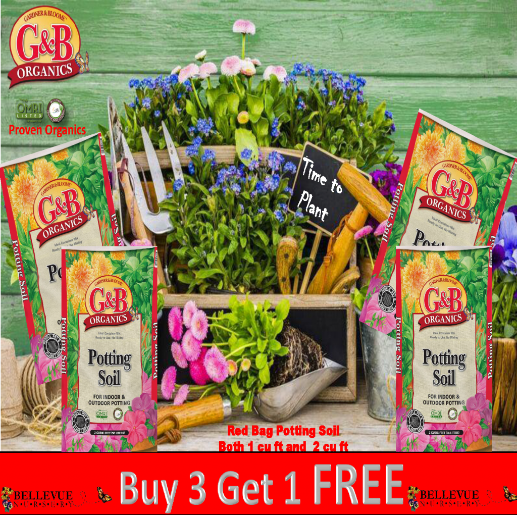 Potting Soil Buy 3 June 2017